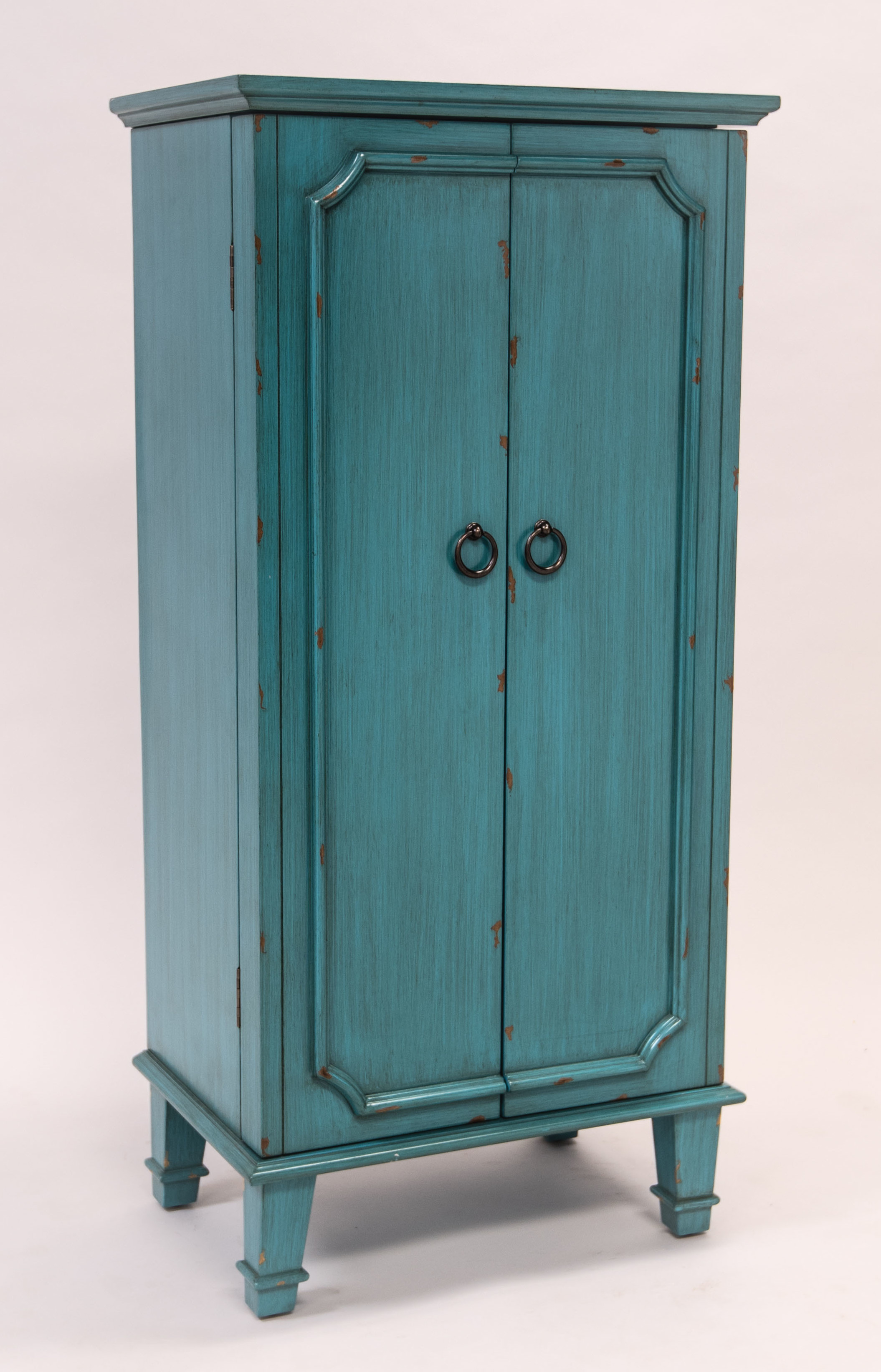 Cabby Rustic Turquoise Jewelry armoire Hives and Honey