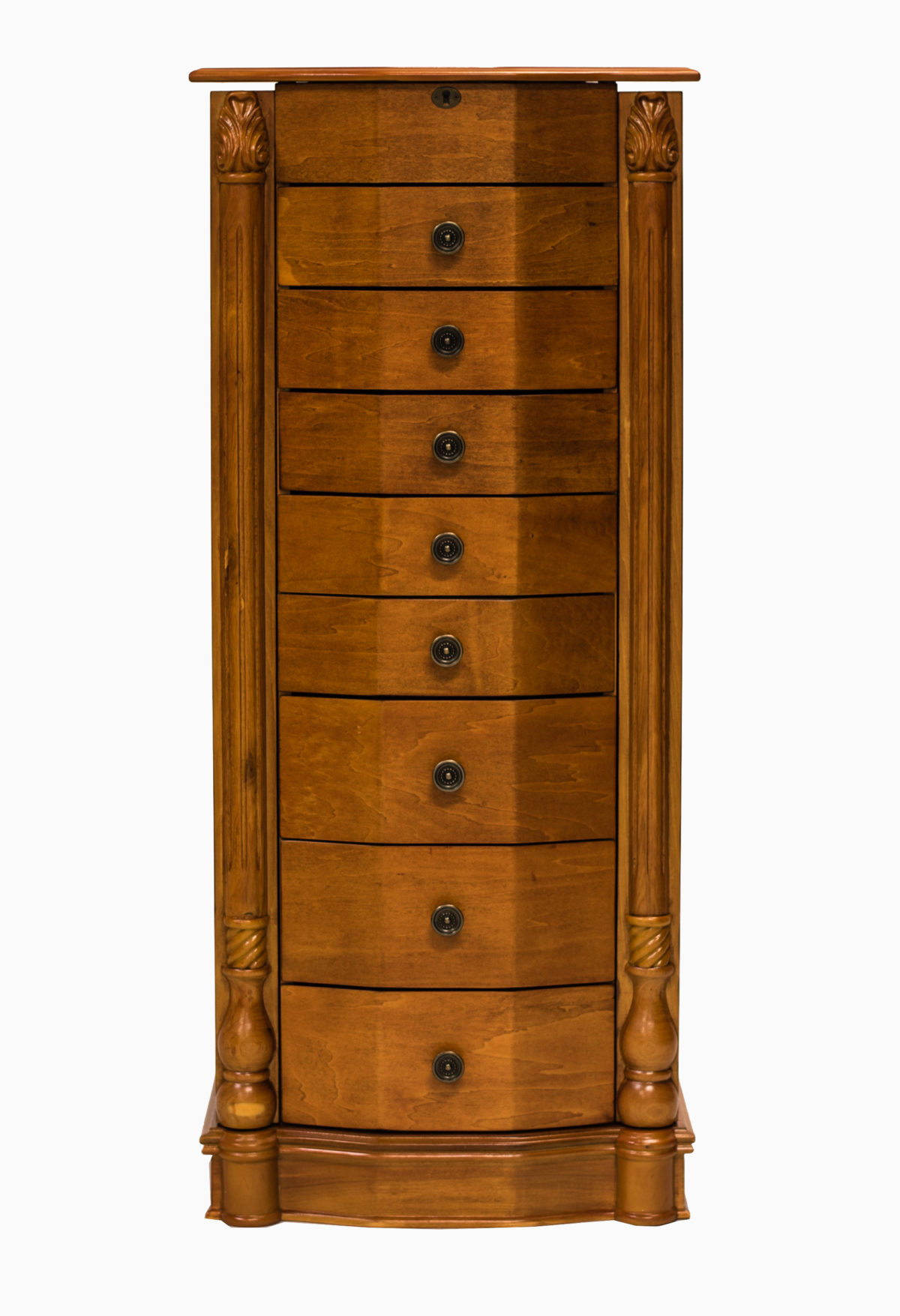 florence jewelry armoire honey oak hives and honey