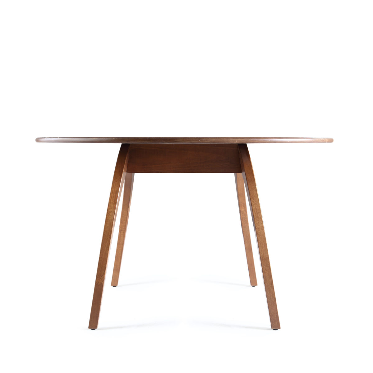 beckett oval dining table deco walnut hives and honey. Black Bedroom Furniture Sets. Home Design Ideas