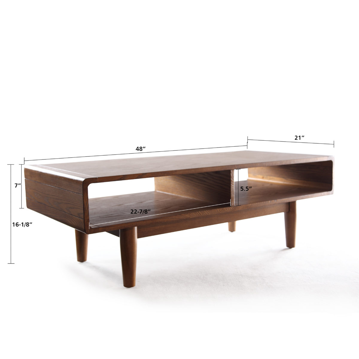 dexter coffee table deco walnut hives and honey. Black Bedroom Furniture Sets. Home Design Ideas