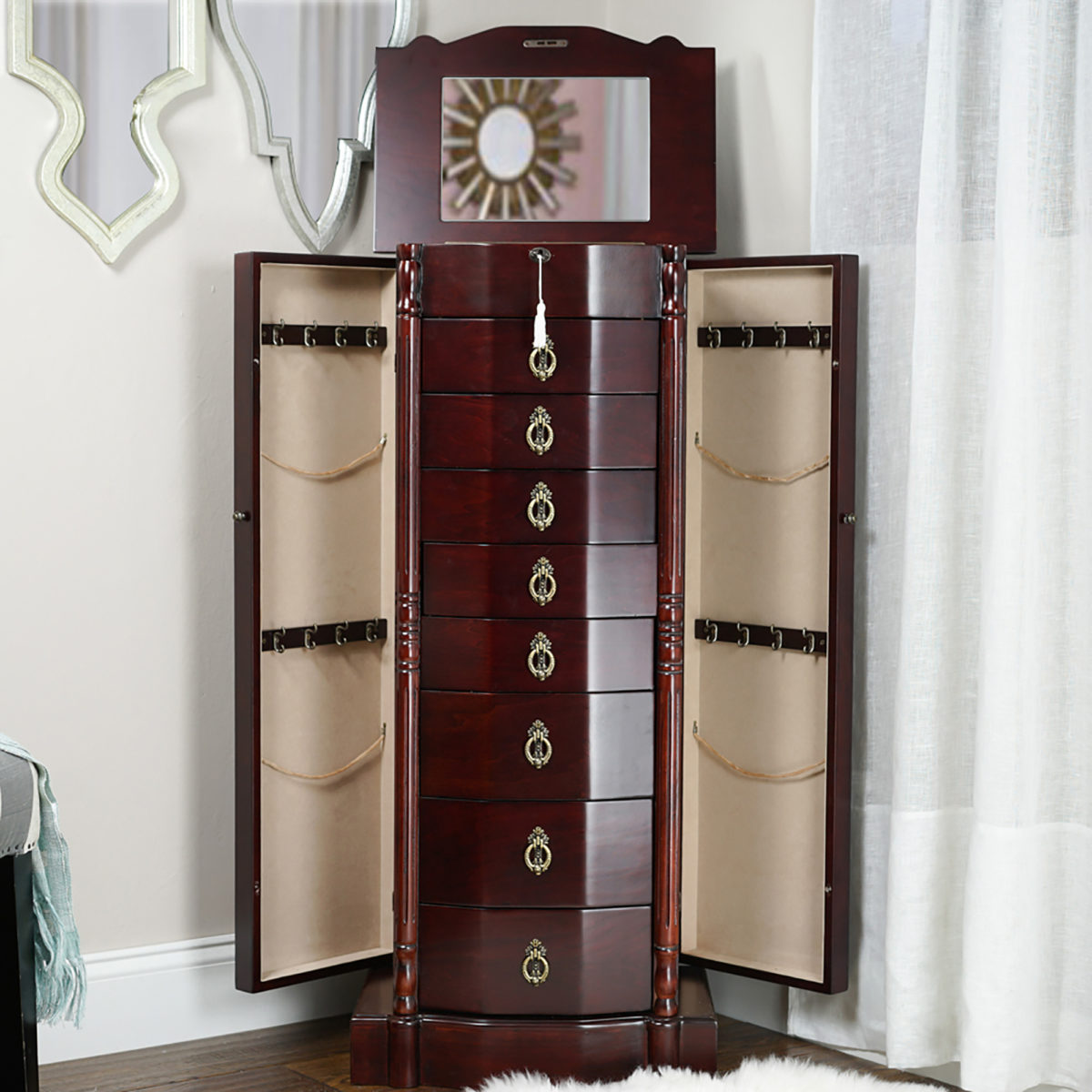 Robyn Jewelry Armoire Cherry Hives and Honey