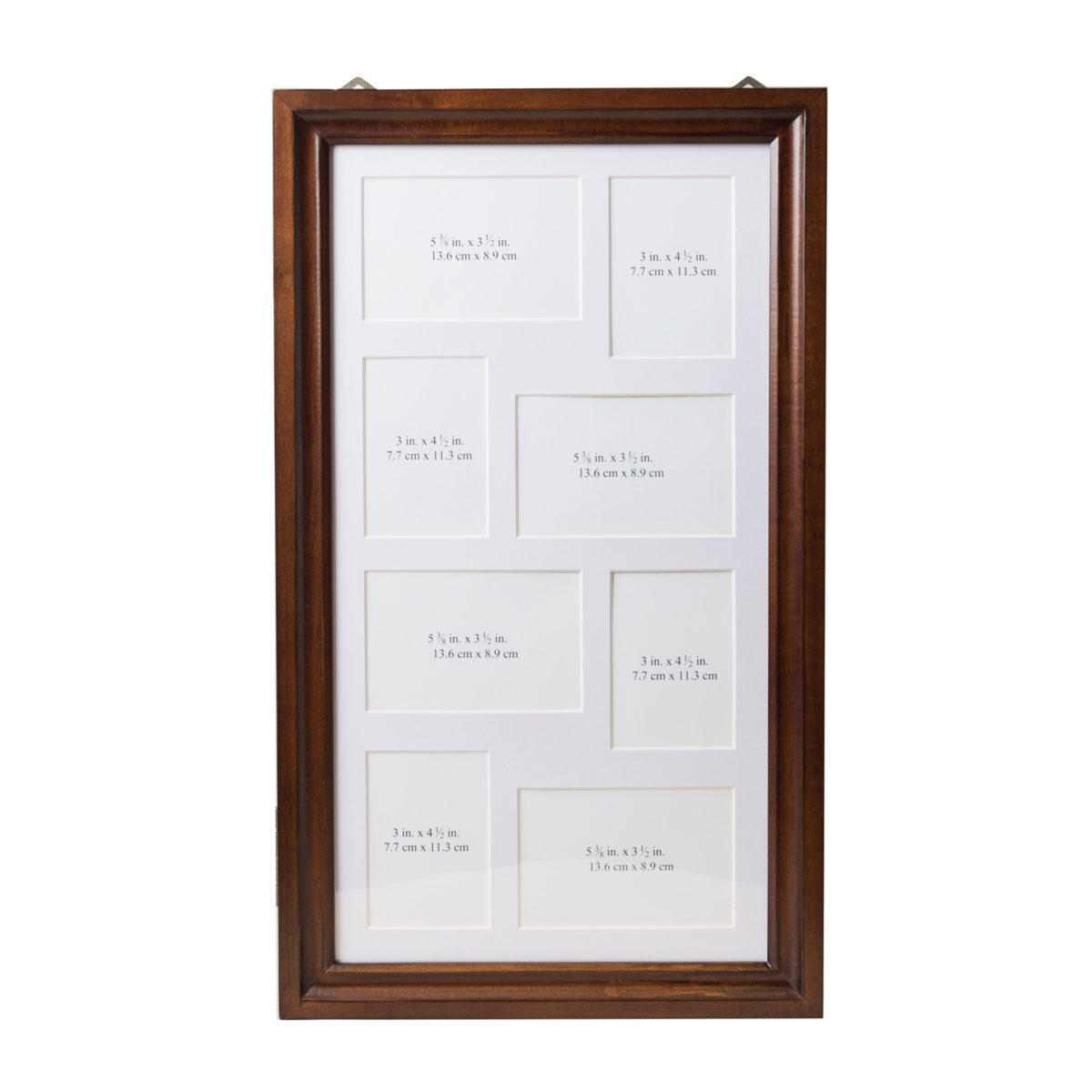 Collage Frame ~ Dark Walnut | Hives and Honey