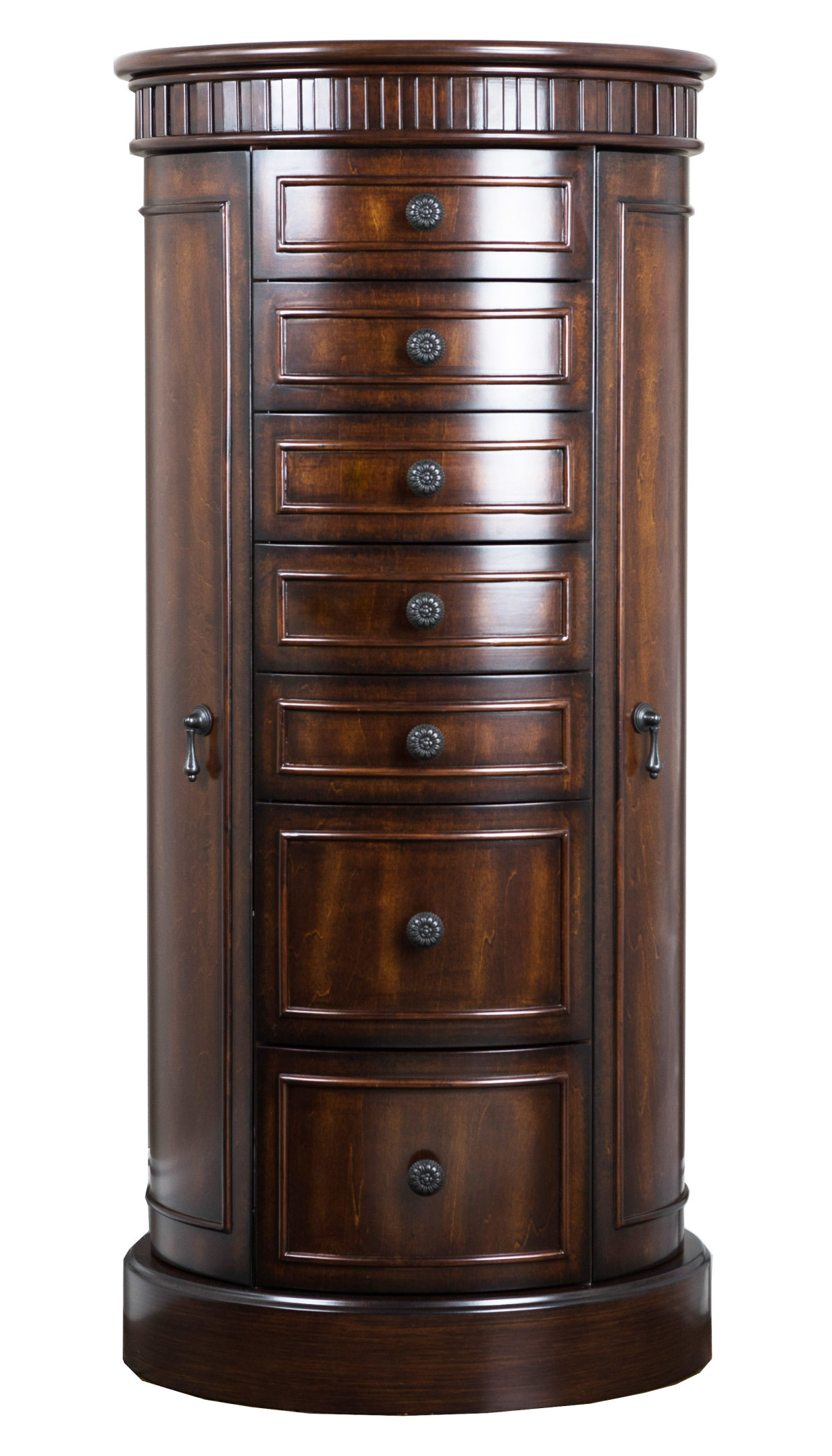 bailey jewelry armoire antique walnut hives and honey. Black Bedroom Furniture Sets. Home Design Ideas