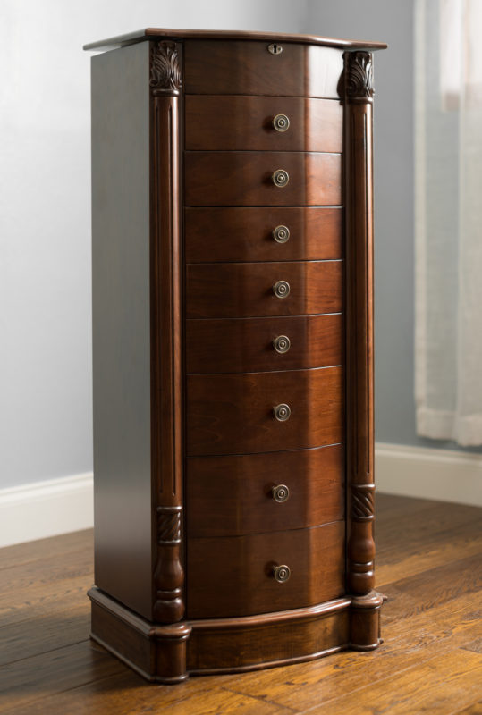 All Wood Jewelry Armoire ~ Florence jewelry armoire rich walnut hives and honey