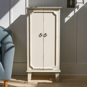 Cabby Jewelry Armoire ~ Tuscan Ivory | Hives and Honey